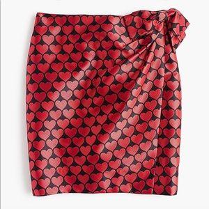 Jcrew heart Skirt ❤️